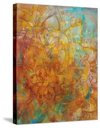 Bohemian Abstract Bright Crop-Danhui Nai-Stretched Canvas Print
