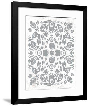 Otomi Rabbits-Cleonique Hilsaca-Framed Art Print
