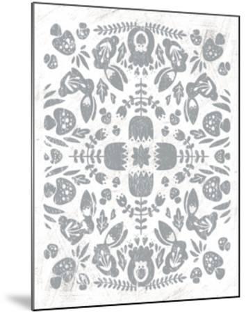 Otomi Rabbits-Cleonique Hilsaca-Mounted Art Print