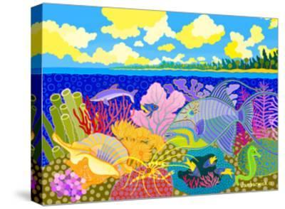 Luminescence Tropicale-Jan Barwick-Stretched Canvas Print