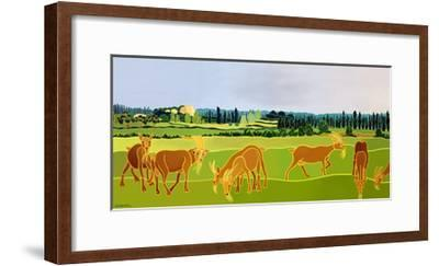 Les Chevres-Jan Barwick-Framed Giclee Print