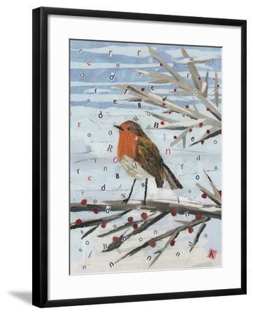 Red, Red Robin-Kirstie Adamson-Framed Giclee Print