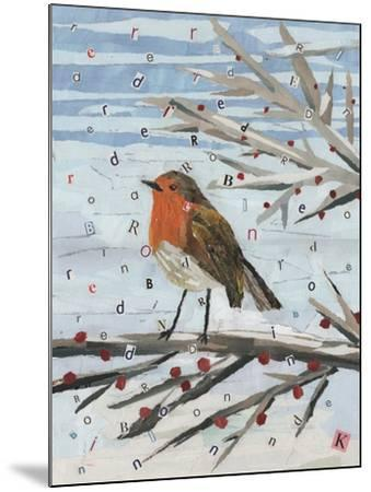 Red, Red Robin-Kirstie Adamson-Mounted Giclee Print