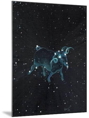 Star Sign - Aires, 2016-Vincent Alexander Booth-Mounted Giclee Print