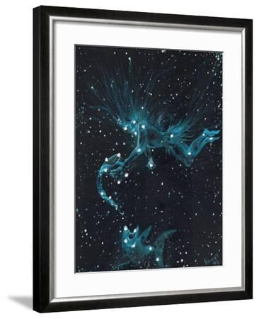 Star Sign - Aquarius, 2016-Vincent Alexander Booth-Framed Giclee Print