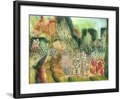 Great Dixter: Topiary and Paths-Mary Kuper-Framed Giclee Print