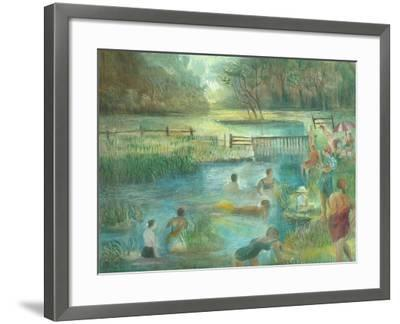 Simmers, Simonsbath-Mary Kuper-Framed Giclee Print