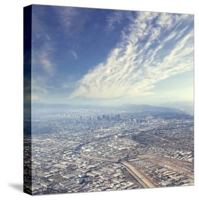 Los Angeles-peshkov-Stretched Canvas Print