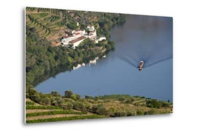 Douro Valley, Douro River, Porto. Valley Is Lined with Steeply Sloping Hills and Vineyards-Emily Wilson-Metal Print