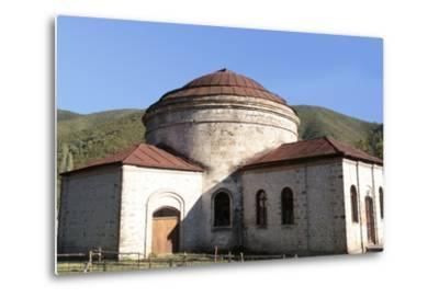 Azerbaijan, Sheki. A 6th-Century Caucasian Albanian Church-Alida Latham-Metal Print