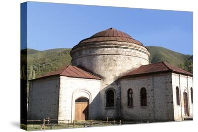 Azerbaijan, Sheki. A 6th-Century Caucasian Albanian Church-Alida Latham-Stretched Canvas Print
