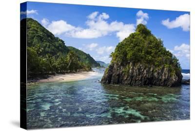 East Coast of Tutuila Island, American Samoa, South Pacific-Michael Runkel-Stretched Canvas Print