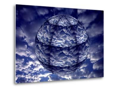 Concept of 3D Earth Climate-Jaynes Gallery-Metal Print