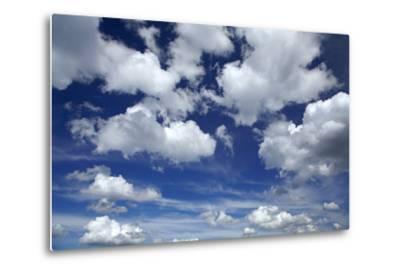 Clouds over Waikato, North Island, New Zealand-David Wall-Metal Print