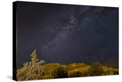 USA, Colorado. Milky Way Above Mountains-Jaynes Gallery-Stretched Canvas Print