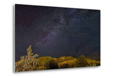 USA, Colorado. Milky Way Above Mountains-Jaynes Gallery-Metal Print