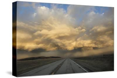 USA, Colorado. Spring Storm Clouds at Sunrise Above South Park-Jaynes Gallery-Stretched Canvas Print