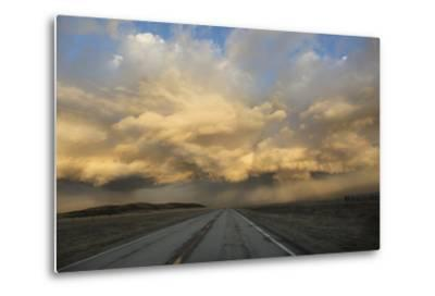 USA, Colorado. Spring Storm Clouds at Sunrise Above South Park-Jaynes Gallery-Metal Print
