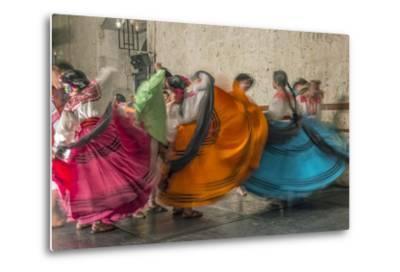Mexico, Oaxaca, Mexican Folk Dance-Rob Tilley-Metal Print