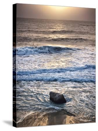 USA, California, Big Sur, Sunset at Garrapata State Beach-Ann Collins-Stretched Canvas Print