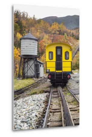USA, New Hampshire, White Mountains, Bretton Woods, Mount Washington Cog Railway-Walter Bibikow-Metal Print