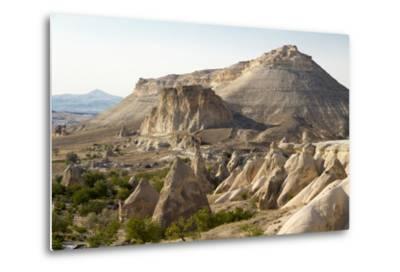 Turkey, Cappadocia Is a Historical Region in Central Anatolia. Fairy Chimneys-Emily Wilson-Metal Print