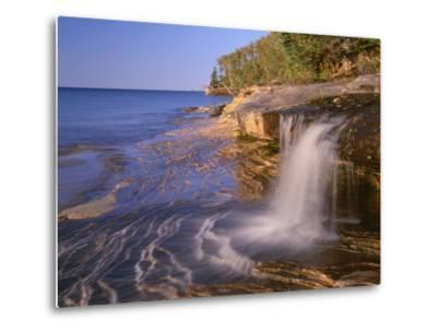 Michigan, Pictured Rocks National Lakeshore-John Barger-Metal Print