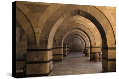 Turkey, Cappadocia. Caravanserais Interior Architecture-Emily Wilson-Stretched Canvas Print