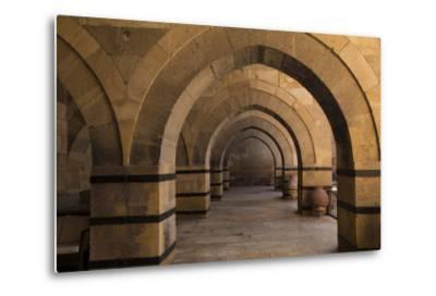 Turkey, Cappadocia. Caravanserais Interior Architecture-Emily Wilson-Metal Print