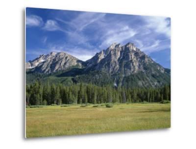 Idaho, Sawtooth National Recreation Area-John Barger-Metal Print