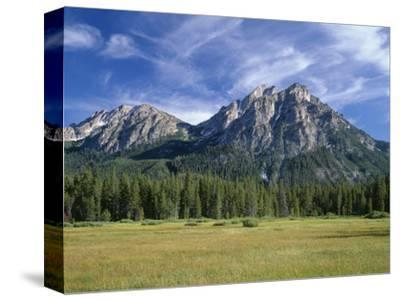 Idaho, Sawtooth National Recreation Area-John Barger-Stretched Canvas Print