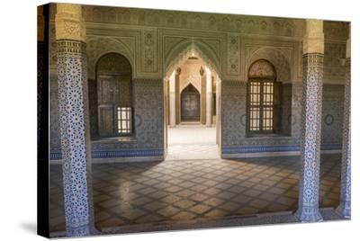 Morocco, Agdz, the Kasbah of Telouet Fortress-Emily Wilson-Stretched Canvas Print
