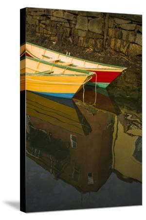 Massachusetts, Cape Ann, Annual Schooner Festival, Gloucester Dorries-Walter Bibikow-Stretched Canvas Print