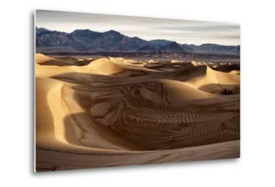 USA, California, Death Valley National Park, Mesquite Flat Dunes after Rain-Ann Collins-Metal Print
