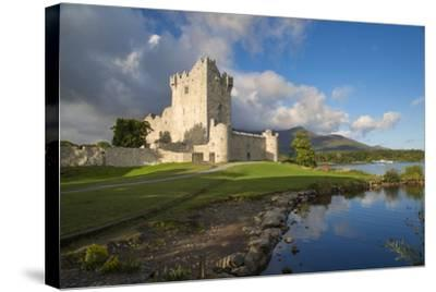Ross Castle on Lough Leane Near Killarney, County Kerry, Ireland-Brian Jannsen-Stretched Canvas Print