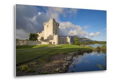 Ross Castle on Lough Leane Near Killarney, County Kerry, Ireland-Brian Jannsen-Metal Print