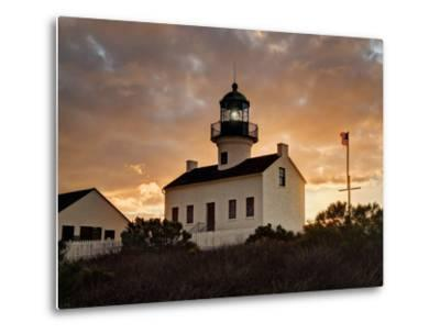 USA, California, San Diego, Old Point Loma Lighthouse at Cabrillo National Monument-Ann Collins-Metal Print