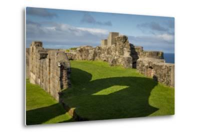 Ruins of Downhill Demesne Mansion Near Castlerock, County Londonderry, Northern Ireland, Uk-Brian Jannsen-Metal Print