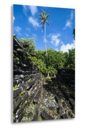 Ruined City Nan Madol, Pohnpei, Micronesia, Central Pacific-Michael Runkel-Metal Print