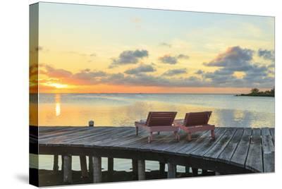 Saint Georges Caye Resort, Belize-Stuart Westmorland-Stretched Canvas Print