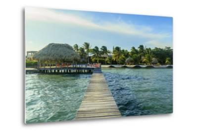 Saint Georges Caye Resort, Belize, Central America-Stuart Westmorland-Metal Print
