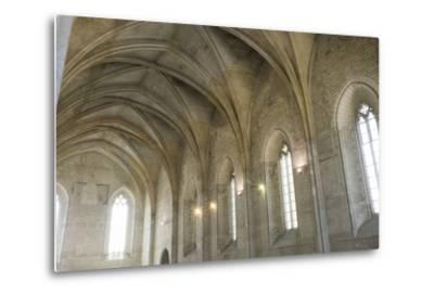 Southern France, Vaucluse, Provence, Avignon, Views in and around the Papal Palace-Emily Wilson-Metal Print
