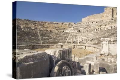 Turkey, the Ruins of Miletus, a Major Ionian Center of Trade and Learning in the Ancient World-Emily Wilson-Stretched Canvas Print