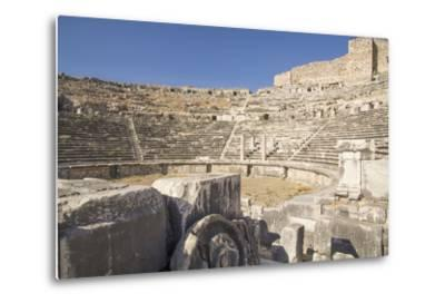 Turkey, the Ruins of Miletus, a Major Ionian Center of Trade and Learning in the Ancient World-Emily Wilson-Metal Print