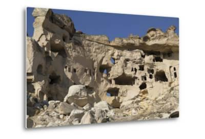 Turkey. Christian Cave Churches and Monasteries in Cappadocia Turkey-Emily Wilson-Metal Print