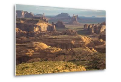 USA, Utah, Monument Valley. View of Rock Formations-Jaynes Gallery-Metal Print