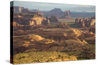 USA, Utah, Monument Valley. View of Rock Formations-Jaynes Gallery-Stretched Canvas Print