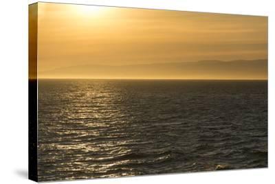 Washington, Canada, British Columbia. Strait of Juan De Fuca, Vancouver Island, Evening Light-Trish Drury-Stretched Canvas Print