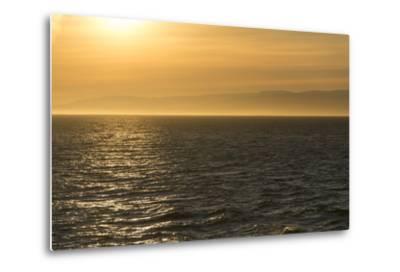 Washington, Canada, British Columbia. Strait of Juan De Fuca, Vancouver Island, Evening Light-Trish Drury-Metal Print
