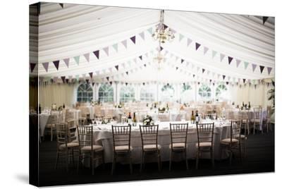 Wedding Marquee, United Kingdom, Europe-John Alexander-Stretched Canvas Print